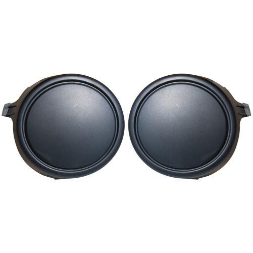 kit droit gauche d 39 obturateur antibrouillard noir pour citroen c3 pluriel a partir de 10 2008. Black Bedroom Furniture Sets. Home Design Ideas